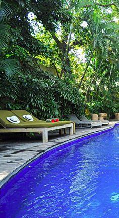 Villa Basilio, Seminyak, Bali.  Beyond Villas Bali has a selection of beautiful villas, all over Bali, to suit every style & Budget. www.beyondvillas.com