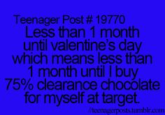 Haha yep!!! And not just Target.. Idk WHY they put it on sale, people aren't gonna not want it anymore because it's after Valentine's!! But hey, not complaining!