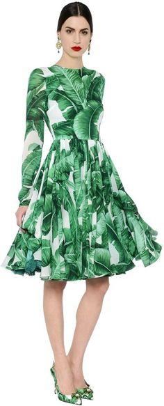 Dolce gabbana kleid grun