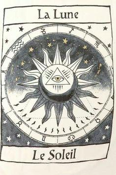 La luna y el sol!