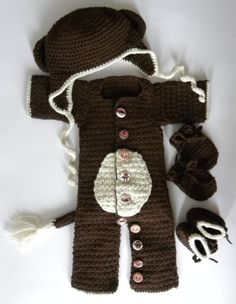 Monkey Onesie/Costume!
