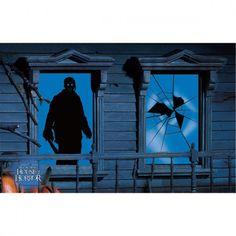 Jason from Halloween Window Shadow  http://barnaclebill.hubpages.com/hub/halloweenwindowsilhouettesdecorations