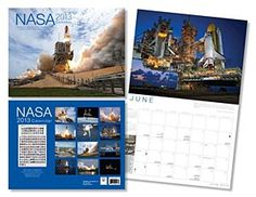 Start the new year off right with this impressive NASA 2013 calendar.Includes amazing images of human space flight and includes a complete photo collection of all human space flight mission patches.