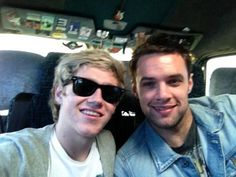 Niall Horan and Niall Breslin