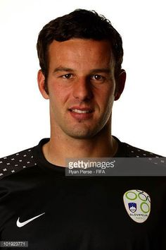 Samir Handanovic of Slovenia poses poses during the official FIFA World Cup 2010 portrait session on June 9 2010 in Johannesburg South Africa