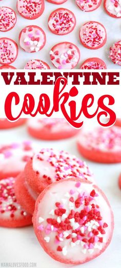 EASY VALENTINE COOKIES - Looking for an easy last minute Valentines Day recipe? These Valentine Cookies are perfect! Only a few ingredients and they are delicious! Mocha Cheesecake, Low Carb Cheesecake, Cheesecake Recipes, Cookie Recipes, Dessert Recipes, Bar Recipes, Valentine Desserts, Valentine Cookies, Valentines