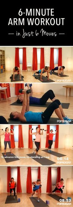 6 minute arm workout | Posted By: NewHowToLoseBellyFat.com