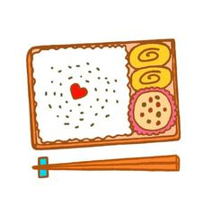 【ポイント】◆お弁当箱の半分以上にごはん、残りに少しおかずをつける感じ♪最後にここにはのっていない具だくさんのお味噌汁を添えるとGood