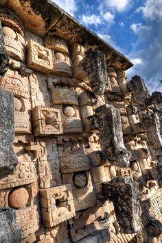 Codz Pop en Kabah Ruta Puuc, Yucatan Mexico
