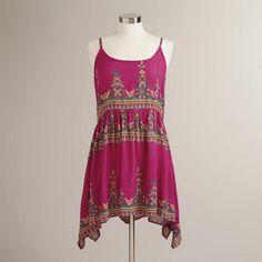 One of my favorite discoveries at WorldMarket.com: Fuchsia Devin Sundress