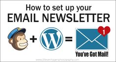 How to set up an Email Newsletter using MailChimp WordPress -Feature