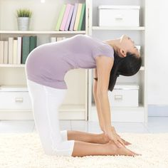 Pregnancy exercise moves that will help you adjust to your body's pregnancy changes, no matter what your starting point is. Plus, these pregnancy stretching and breathing exercises can help you get through the day!