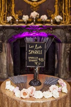 wedding reception idea; Kristin Spencer Photography
