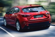 This is the 2014 Mazda3