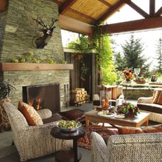 Awesome outdoor living area