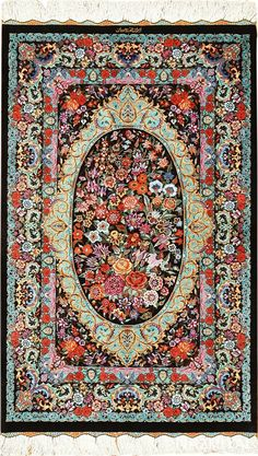 Jun 2019 - View this breathtaking and intricate small scatter size Persian Qum silk rug available for sale at Nazmiyal Antique Rugs Carpet Diy, Shaw Carpet, Carpet Decor, Modern Carpet, Modern Rugs, Rugs On Carpet, Persian Decor, Persian Rug, Rugs
