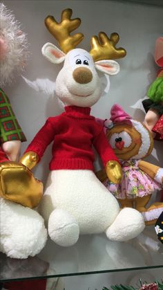 Reno blanco Felt Christmas Stockings, Beaded Christmas Ornaments, Christmas Items, Best Christmas Gifts, Christmas And New Year, Christmas Crafts, Christmas Decorations, Holiday Decor, Natal Country