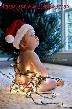 Honey, Bee Inspired: Santa, baby!