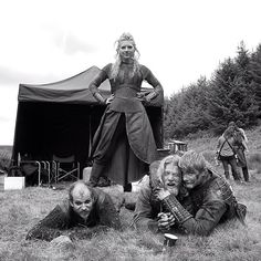 That one time, hanging with @historyvikings in Ireland… #setlife #vikings…