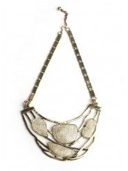 Antiqued Stoned Necklace  $25.00