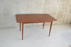 Mid Century Teak Dining Table by McIntosh of Kirkcaldy Scotland 1970s