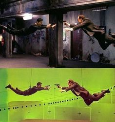 This Is How Hollywood Movies Look Before & After Visual Effects Are Applied