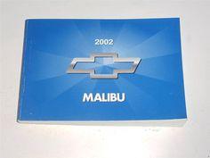 2002 Chevrolet Malibu Owners Manual Book