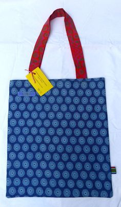 Ines Tote Bag  Strong Durable Fabric  Handmade in by MathildeAndCo, £12.00