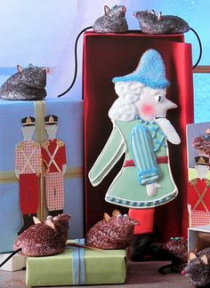 Good Things by David: Martha by Mail ~ Nutcracker & Mouse King Cookie Cutters
