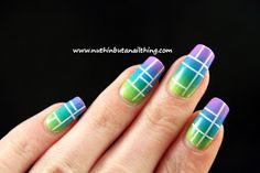 Neon, gradient and some stripes...