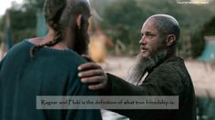 Ragnar and Floki is the definition of what true friendship is. Send your Vikings confessions here. Viking Art, Viking Woman, Vikings Season 4, Vikings Ragnar, Viking Dress, Floki, Travis Fimmel, History Channel, Norse Mythology
