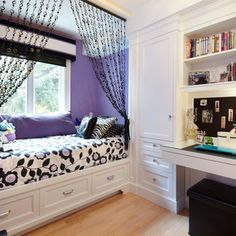 love the bed in front of the window but wouldn't want to be woke up by the sun, so I'd have to get a black-out shade.