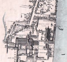 Old Palace of Westminster, 16th cen.