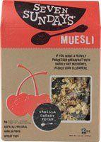 Seven Sundays Muesli, Vanilla Cherry Pecan, 12 Oz (Pack of 6) - http://sleepychef.com/seven-sundays-muesli-vanilla-cherry-pecan-12-oz-pack-of-6/