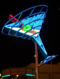 One cool neon sign