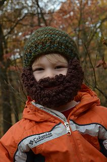Mountain Man Beard Hat by Mary Hodges Free
