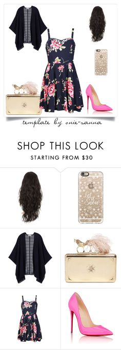 """""""Untitled #59"""" by brandy-carringer ❤ liked on Polyvore featuring Casetify, Tory Burch, Alexander McQueen, Ally Fashion and Christian Louboutin"""