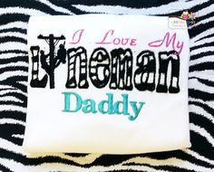 I love my Lineman Daddy  Lineman Daddy  by CEEmbroideryBoutique, $24.00 daddi lineman, linemans baby, love my lineman, lineman love3, lineman daddi