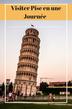 // Road trip in Tuscany: Pisa, the legendary! Italy Places To Visit, Pisa Italy, Italy Outfits, Italian Summer, Sistine Chapel, Trevi Fountain, Voyage Europe, Amalfi Coast, Italy Travel