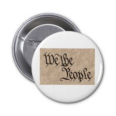 We The People / Parchment Buttons