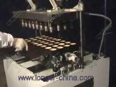 Semi automatic wafer ice cream cone machine