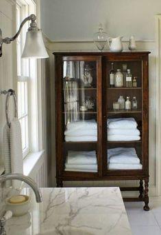 Cheap Home Decor .Cheap Home Decor Bathroom Linen Cabinet, Modern Bathroom Cabinets, Bathroom Furniture, Bathroom Interior, Bathroom Storage, White Bathroom, Small Bathroom, Master Bathroom, Bathroom Ideas