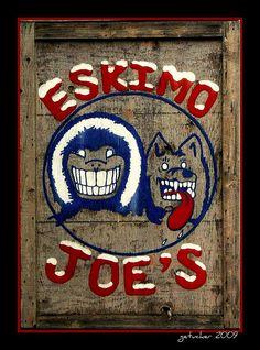 Eskimo Joe's ...Stillwater's Jumpin' Little Juke Joint...They had the best chili cheese fries!