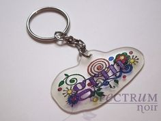 Sparkle Key chain tu