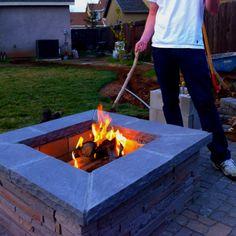 DIY fire pit...