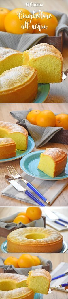 Senza uova, latte e burro. Sweet Recipes, Cake Recipes, Dessert Recipes, Kolaci I Torte, Torte Cake, Sweet Cakes, I Love Food, Yummy Cakes, Italian Recipes