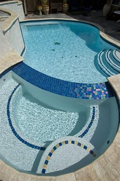 Lightstreams Gl Pool Tile Pea Blue A Northern Ca Our Perfect Spa Small