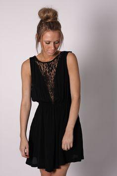 """Balmain Chiffon Dress - Midnight"" from esther.com.au"