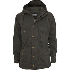 Light Cotton Parka (Urban Classics) Jacke jetzt erhältlich! EMP