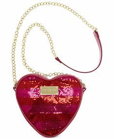Betsey Johnson Holiday Heart Crossbody
